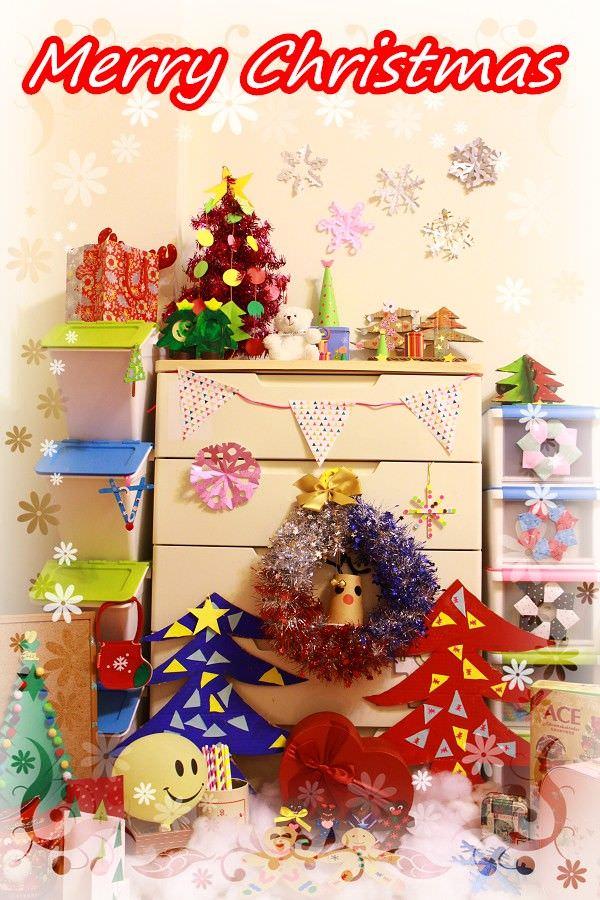 聖誕節親子DIY︱環保裝飾品:五款聖誕樹、薑餅人、花圈、麋鹿通通到齊
