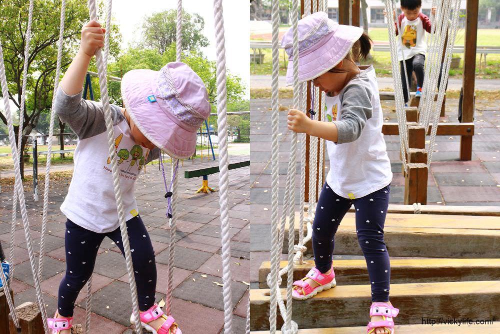 台南特色小學︱進學國小:擁有多樣化遊具,繩索、平衡木,還有一座大沙坑呢
