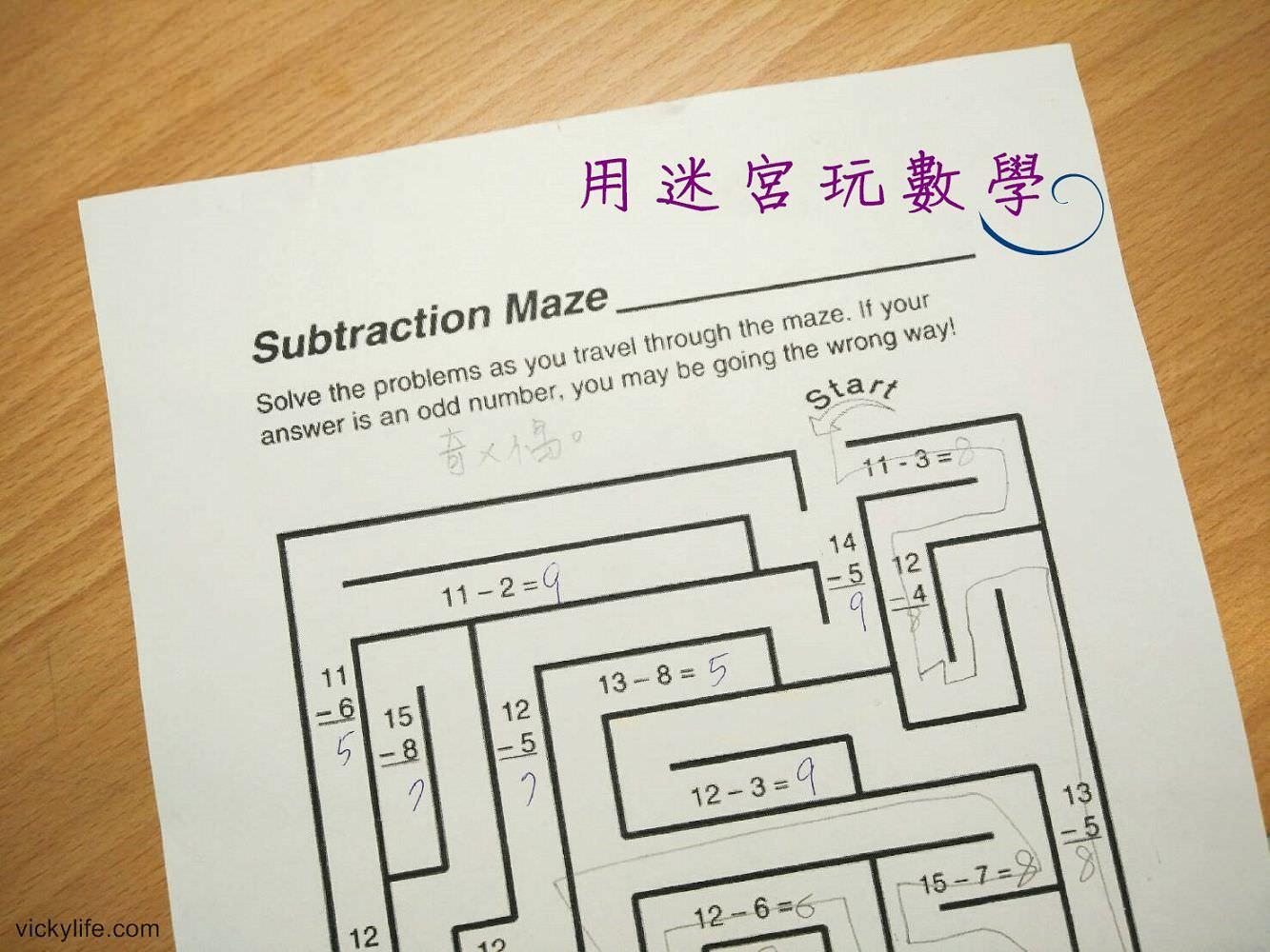 數學遊戲︱小一數學這樣準備︱用迷宮玩數學:內附Dr.  Koepke建議如何打好數學基礎