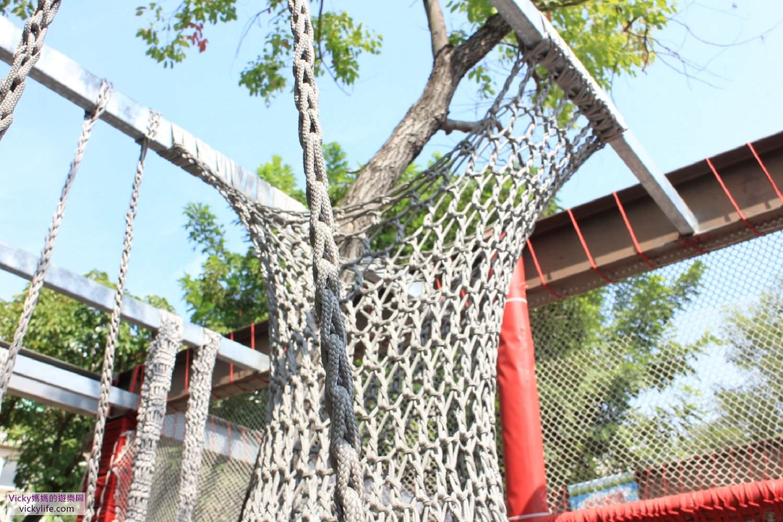 台南最美網美︱蜘蛛人的最愛︱立德公園攀爬網:一座充滿溫度的編織遊具,是孩子開心長大的園地
