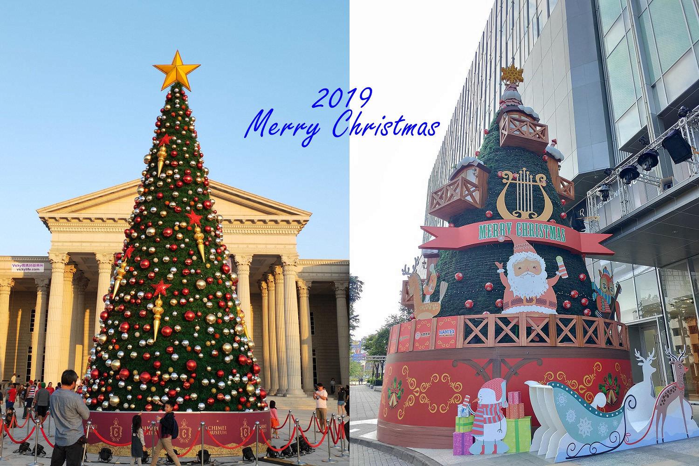 2019台南聖誕樹景點︱照著路線走,一次欣賞5棵台南特色聖誕樹