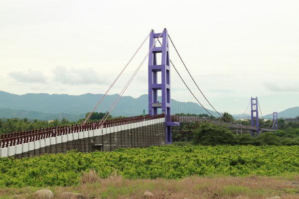 台南景點︱楠西景點︱永興吊橋:全台南最長的吊橋