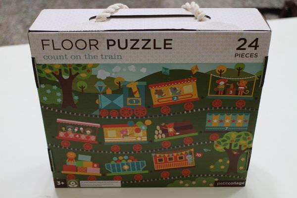 拼圖推薦 ‧跳脫拼圖的框架 ‧大地板拼圖 ‧美國Petit Collage和英國Orchard Toys