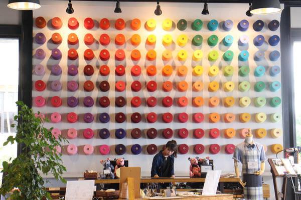 台南善化景點︱觀光工廠︱和明織品文化館HMTM:五顏六色超美的