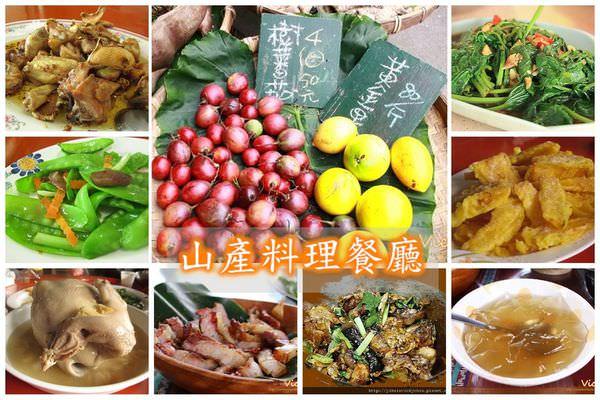 嘉義、台南、高雄美食︱土雞餐廳:8間香噴噴山產料理餐廳,上山賞風景,還可大啖美食哩